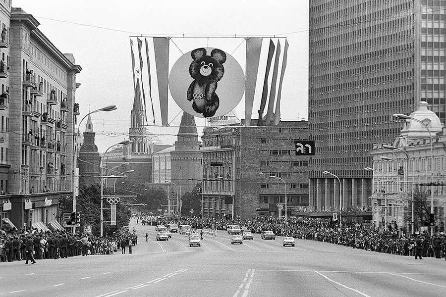 Фото олимпийский мишка